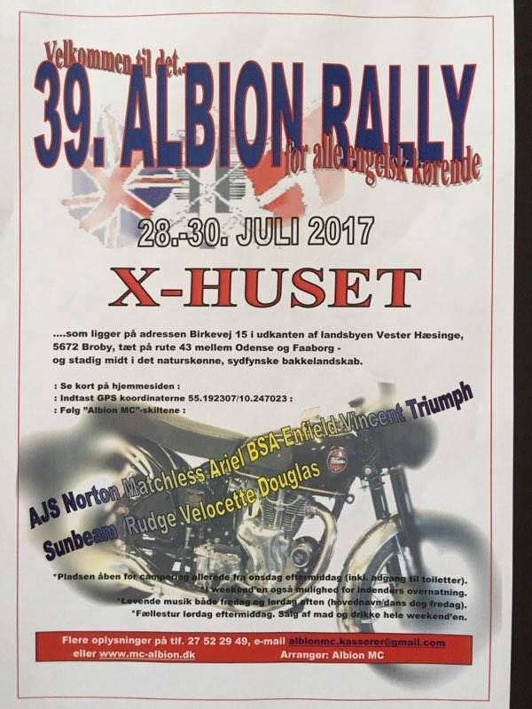 Albion Rally 2017