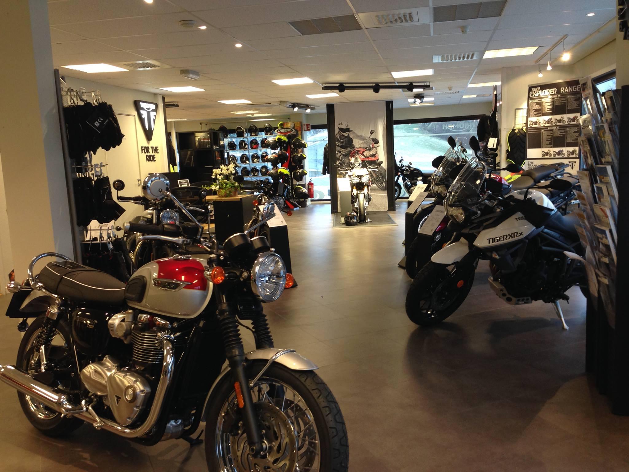 Triumph motorsykkel norge
